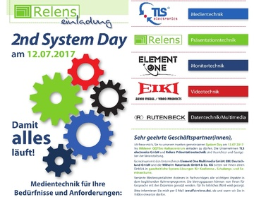 2nd System Day in Hilden